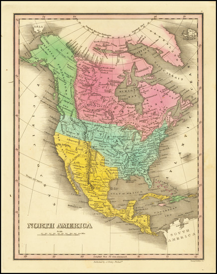 42-North America Map By Anthony Finley