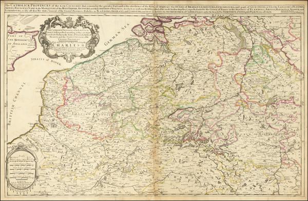 67-Belgium Map By William Berry