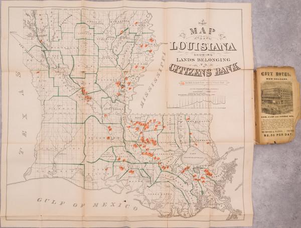 90-Louisiana Map By Daniel Dennett