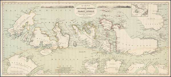 25-Polar Maps Map By Augustus Herman Petermann