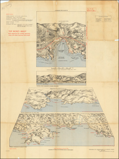 33-France, World War II and Fair Map By 19th Field Survey Company