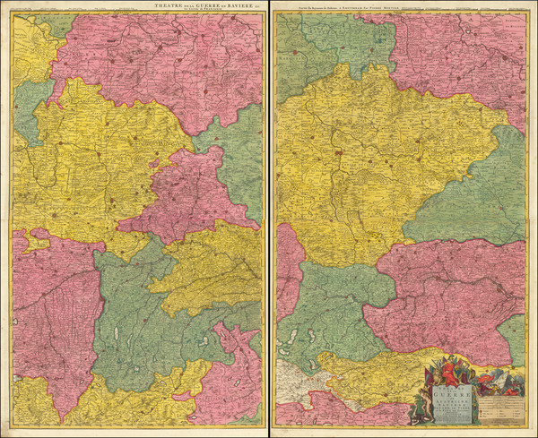 84-Germany, Austria, Poland and Czech Republic & Slovakia Map By Pierre Mortier