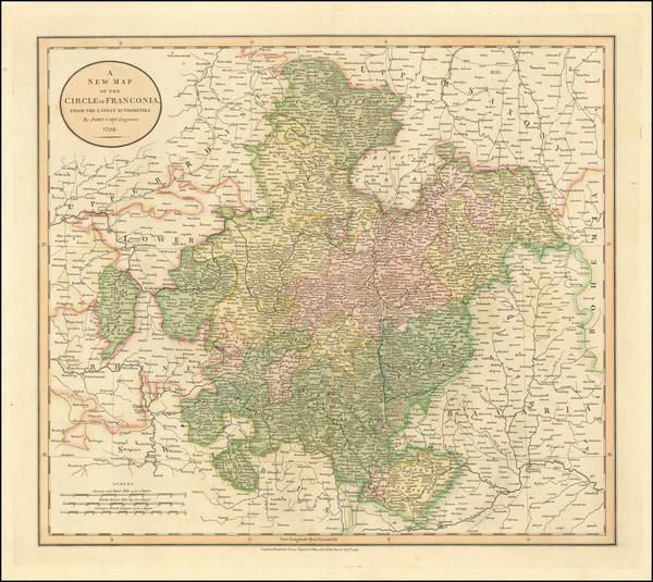 88-Germany Map By John Cary