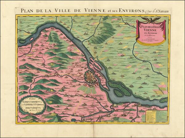 32-Austria Map By Pierre Mortier