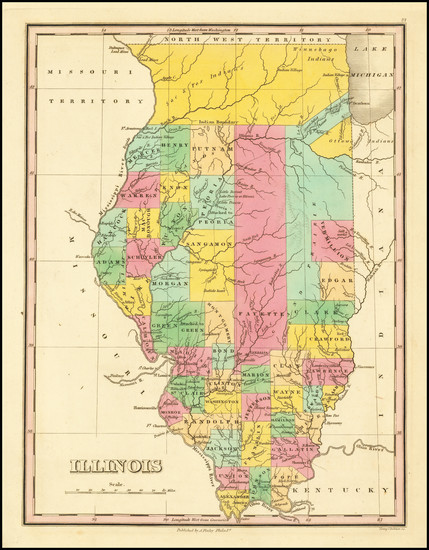 100-Illinois Map By Anthony Finley