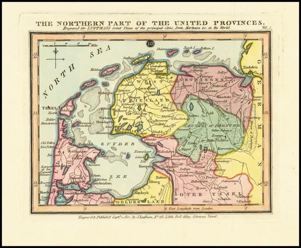 30-Netherlands Map By John Luffman