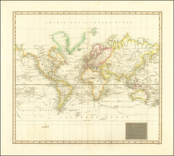 51-World Map By John Thomson