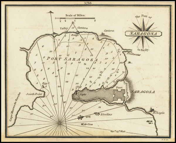 4-Sicily Map By William Heather