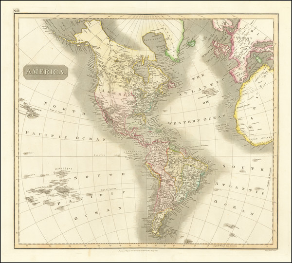 6-America Map By John Thomson