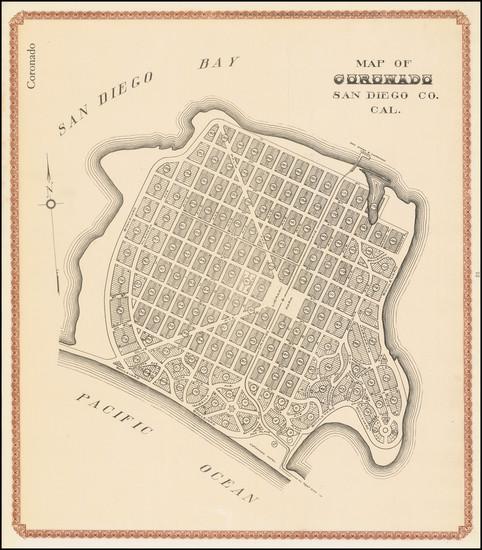 35-San Diego Map By William E. Alexander
