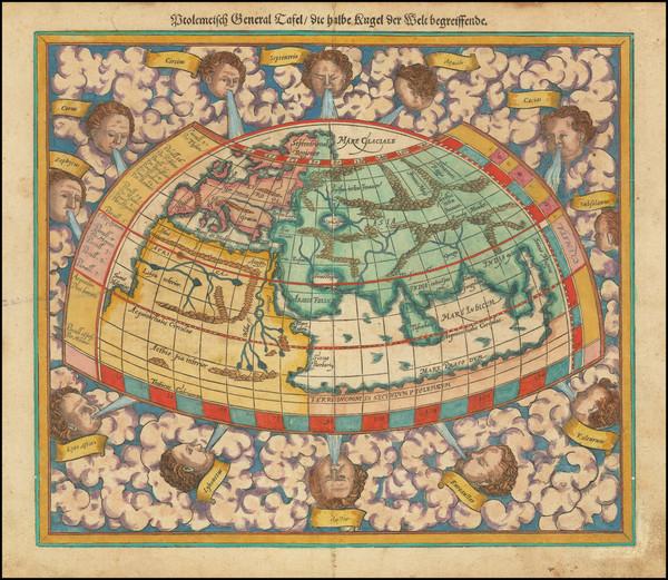 43-World Map By Sebastian Munster