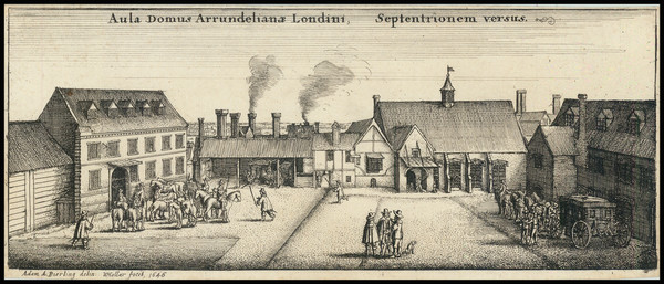 44-London Map By Wenceslaus Hollar