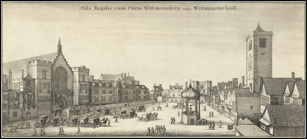 81-London Map By Wenceslaus Hollar