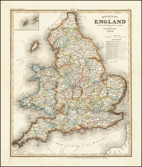 10-England Map By Joseph Meyer