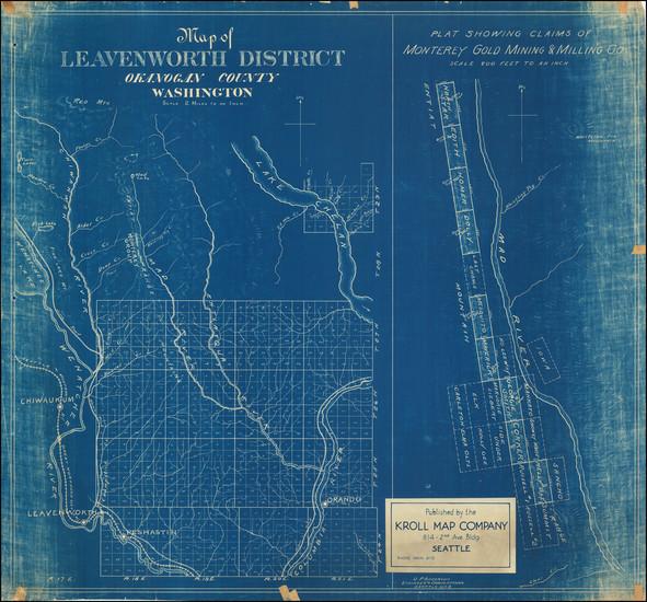 62-Washington Map By Kroll Map Company