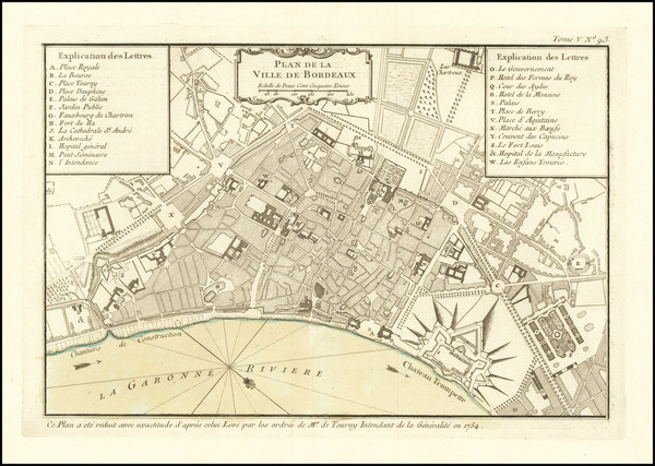 75-Other French Cities Map By Jacques Nicolas Bellin