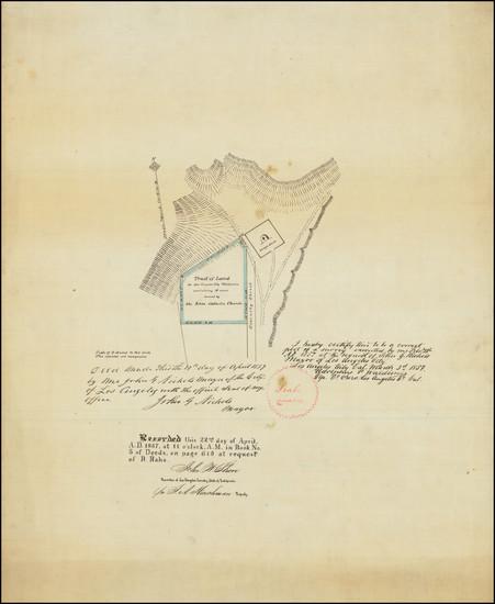 18-Los Angeles Map By Adolphus Waldemar