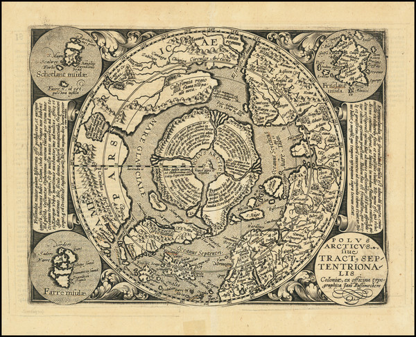 38-Northern Hemisphere and Polar Maps Map By Matthias Quad