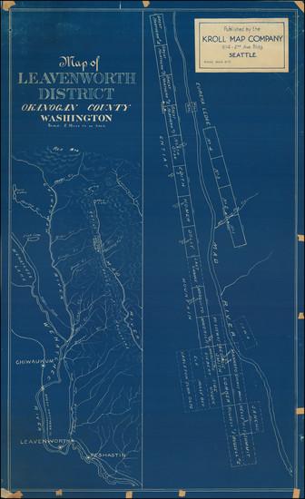2-Washington Map By Kroll Map Company