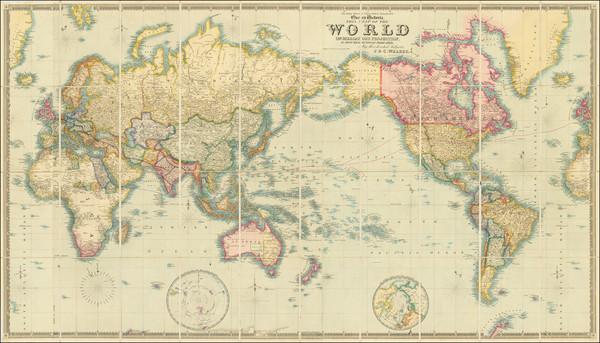 32-World Map By J & C Walker