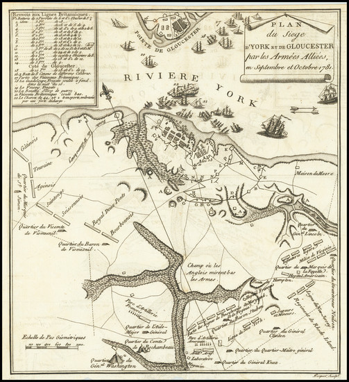 93-Virginia and American Revolution Map By Thomas Gordon