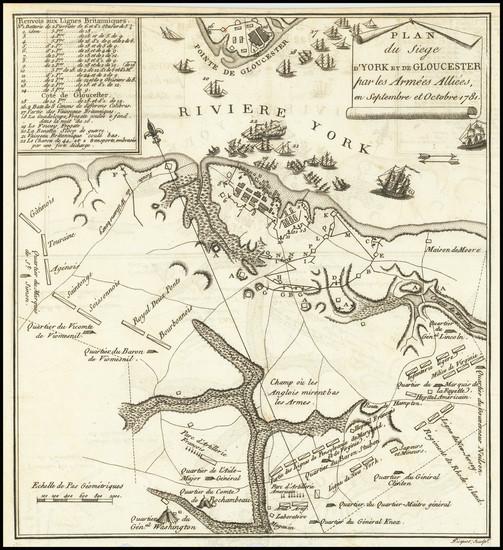 98-Virginia and American Revolution Map By Thomas Gordon
