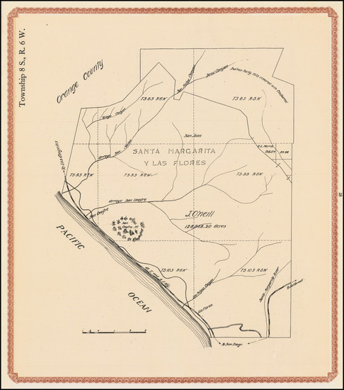 11-San Diego and Other California Cities Map By William E. Alexander