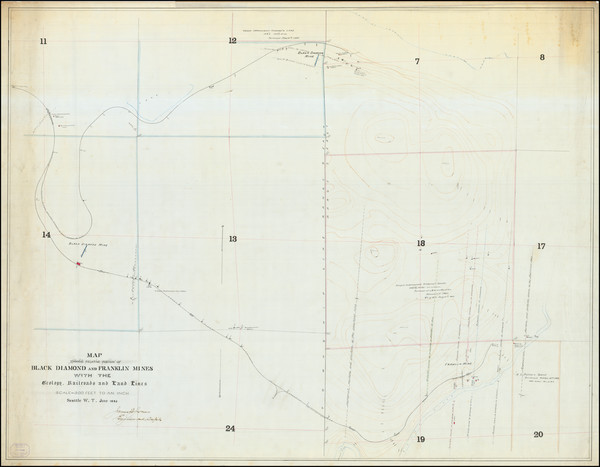 6-Washington Map By James F. Jones