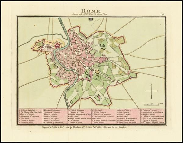 77-Rome Map By John Luffman