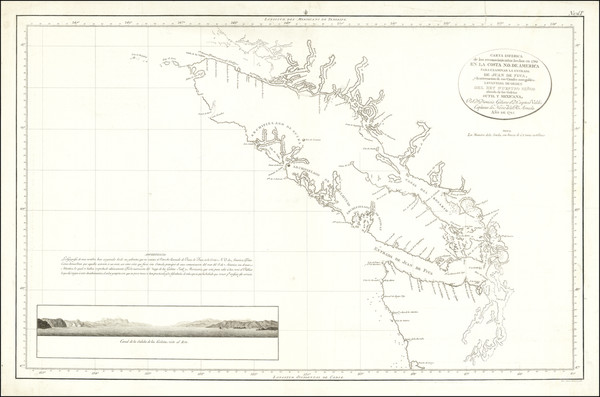 16-Pacific Northwest and British Columbia Map By Direccion Hidrografica de Madrid