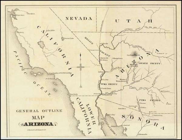82-Arizona Map By Richard McCormick