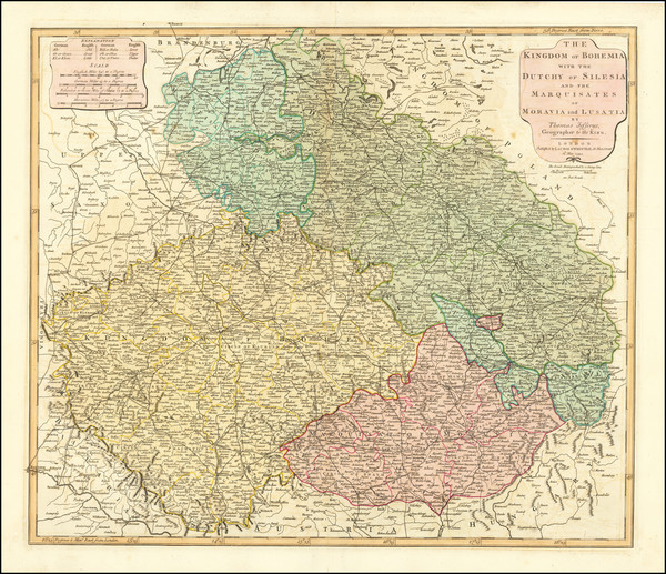 33-Poland and Czech Republic & Slovakia Map By Laurie & Whittle