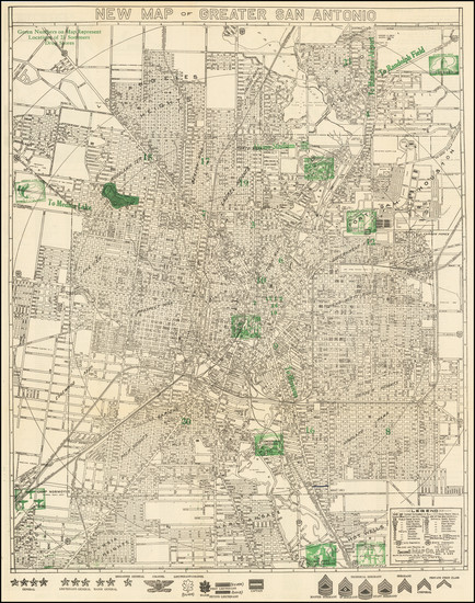 26-Texas Map By Southwell Map Company