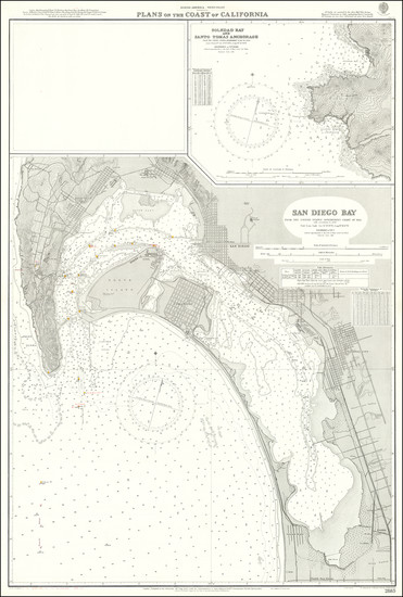 40-San Diego Map By British Admiralty