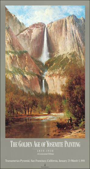 11-Yosemite and Travel Posters Map By Anonymous