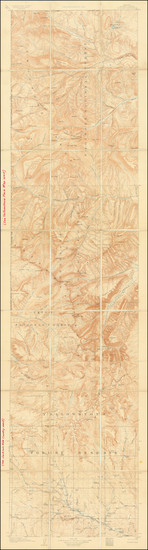 15-Wyoming Map By U.S. Geological Survey