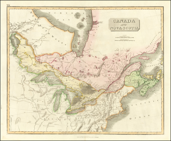 91-Midwest and Canada Map By John Thomson