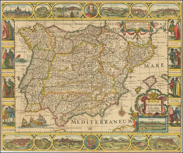 56-Spain Map By Jan Jansson