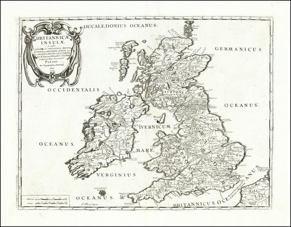 19-British Isles Map By Tipografia del Seminario
