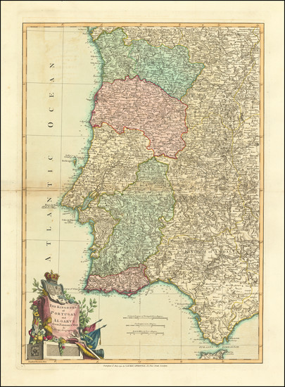 15-Portugal Map By Laurie & Whittle / John Lodge