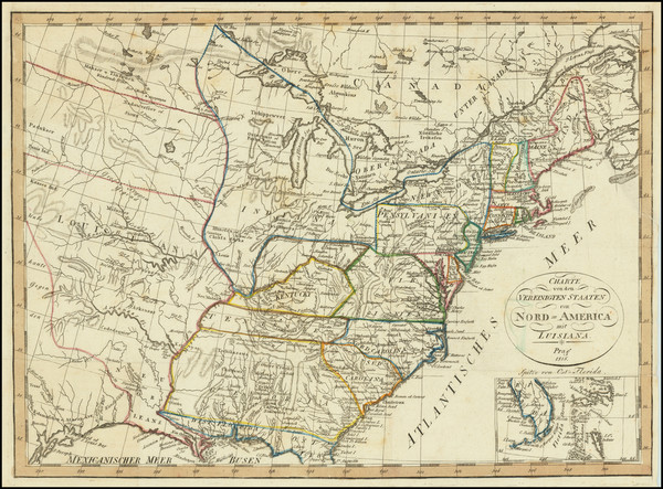 16-United States Map By Franz Pluth