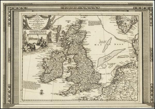 58-British Isles Map By Pieter van der Aa