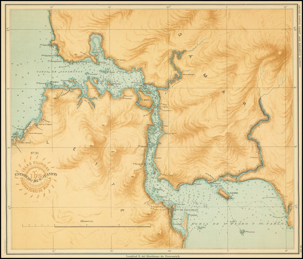 57-Philippines Map By Hoen & Co.
