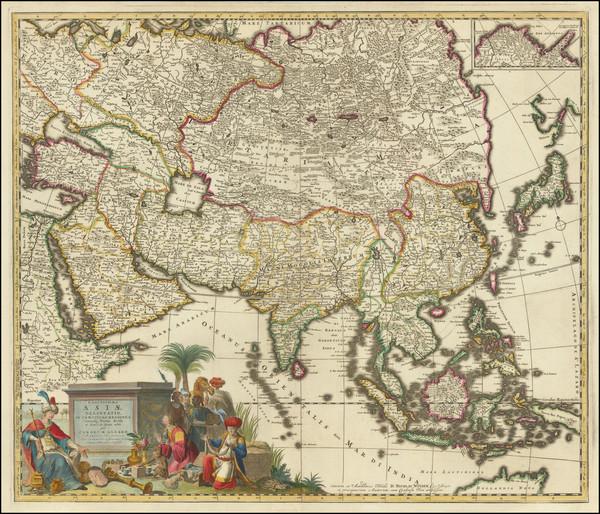 37-Asia Map By Carel Allard