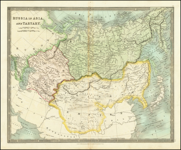 72-China and Russia in Asia Map By Henry Teesdale