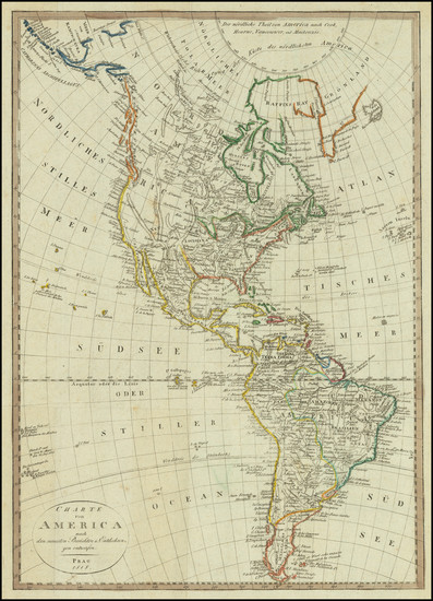 5-America Map By Franz Pluth
