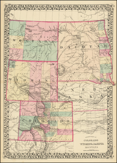 8-Plains, North Dakota, South Dakota, Colorado, Rocky Mountains, Colorado, Montana and Wyoming Ma
