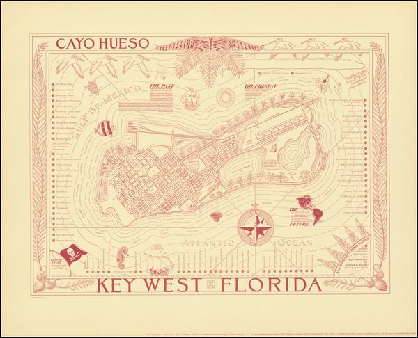 20-Florida Map By Arthur B. Suchy