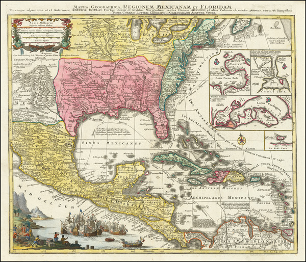 78-United States, South, Southeast and Caribbean Map By Tobias Conrad Lotter