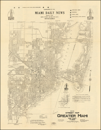 41-Florida Map By Karl Squires